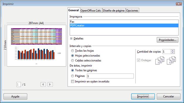 Imprimir - Manual de Apache OpenOffice Calc
