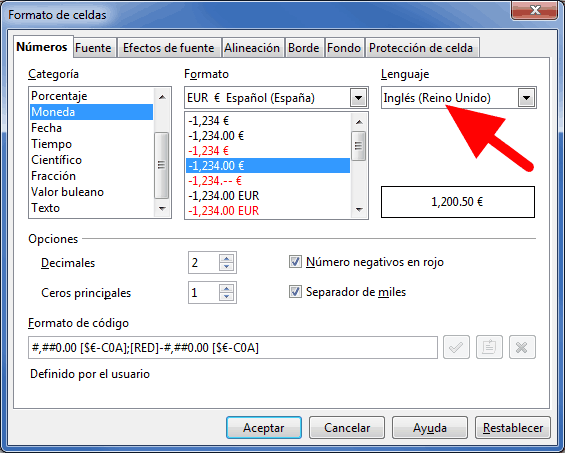 Otros formatos de n mero manual de apache openoffice calc - Openoffice or libre office ...