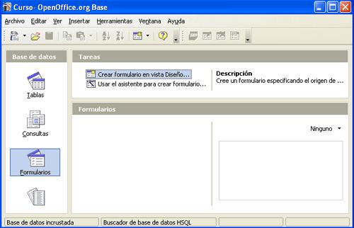 entorno de creaci n de un formulario manual de apache openoffice base rh wiki open office es manual base de datos openoffice Microsoft Access vs OpenOffice Base